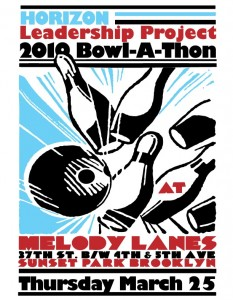 HORIZON Bowl A Thon Flyer