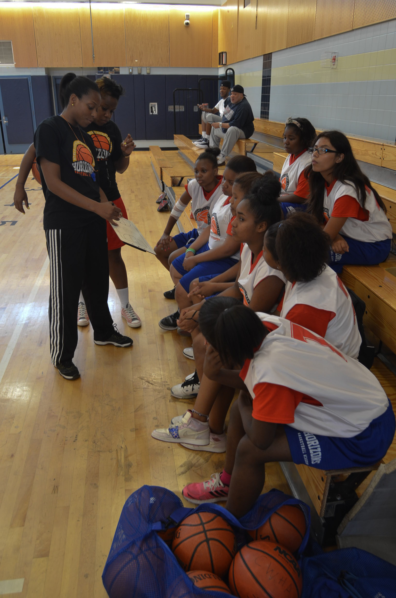 MS Girls Basketball Summer 2012